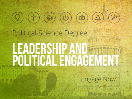 Political Science Degree - Leadership and Political Engagement - Engage Now