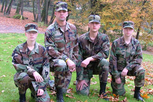 ROTC Students at Corban