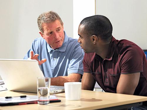 Man Mentoring